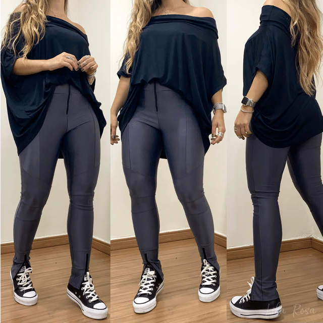 Maxi Blusa Black