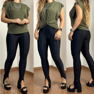 Blusinha Zoé - Verde Militar