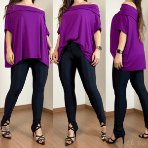 Maxi Blusa Purple