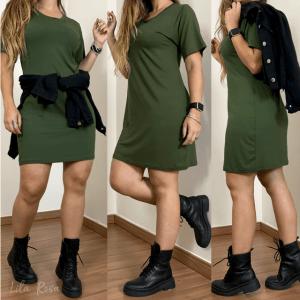 Maxi Tee - Verde Militar