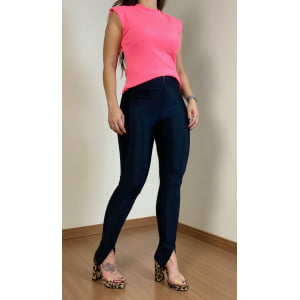 Muscle Tee Rosa Chiclete