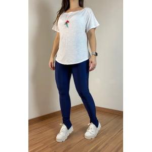 T-shirt manga curta - Off White