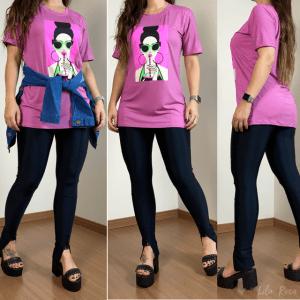 T-shirt Penelope - Rosa Gloss