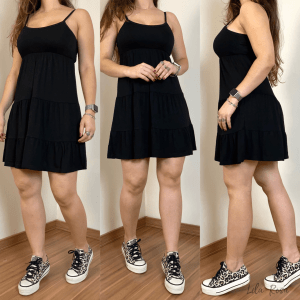 Vestido Malu - Preto