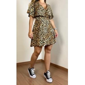 Vestido Analu - Animal Print